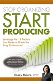 Book cover for Stop Organizing Star Producing