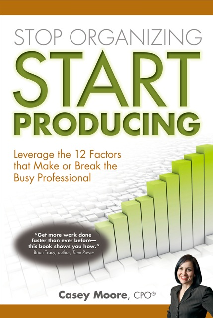 Image of Casey Moore's Productivity Book